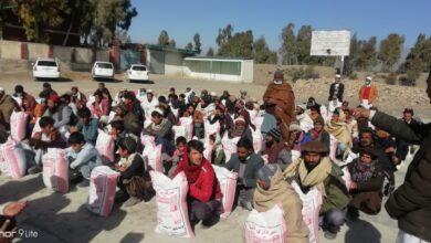 Photo of الخدمت فاؤنڈیشن جنوبی وزیرستان نے سو  غریب گھرانوں میں فوڈ پیکج تقسیم کیا