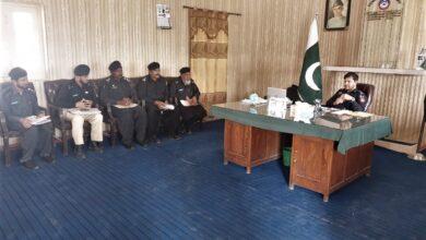 Photo of ڈی پی او خان زیب کے زیر صدارت ڈی پی او آفس وانا  میں اہم اجلاس