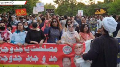 Photo of پاکستان میڈیا اتھارٹی کے خلاف صحافی حضرات کا اسلام ٓباد میں احتجاجی ریلی